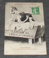 Pétrin De La Triple Entente - Guillaume 2 - Cartes Satiriques :: Série Humoristique De La Guerre 1914 ----------- Alb 3 - Satiriques