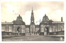 Denmark:Kobenhavn, Christianborg Palace, Pre 1937 - Danimarca