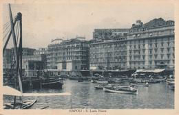 NAPOLI S. LUCIA NUOVA DETTAGLI ANNO 1931 FORMATO PICCOLO VIAGGIATA - Napoli (Napels)