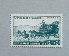 N°919b JOURNÉE DU TIMBRE 1952 VARIÉTÉ T AU LIEU DE I - Nuovi
