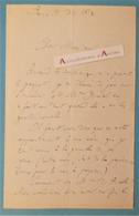 L.A.S 1872 Michel BREAL Linguiste Né Landau Palatinat Allemagne Jules Grévy Fondateur Sémantique Moderne Pinelli Lettre - Autographs