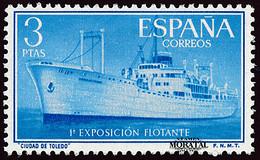 1956 España  Ed 1191 Exposición Exposición **MNH Perfecto Estado, Nuevo Sin Charnela  (Edifil) - 1951-60 Unused Stamps
