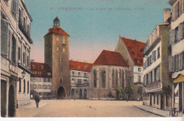 CPA STRASBOURG LA PLACE DE L' HOPITAL - Strasbourg