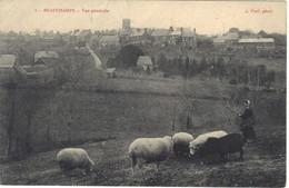 50 BEAUCHAMPS - Vue Générale (Bergère Et Ses Moutons) - Other Municipalities