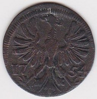 DEUTSCHLAND, Aachen, 4 Heller 1754 - Small Coins & Other Subdivisions