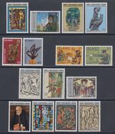 1974 ** Islande (sans Charn., MNH, Postfrish) Complete Yv 438/52  Mi 485/99  FA 522/36  (15v) - Años Completos