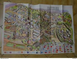 Exposition 1958 , Plan Panoramique , Atomium Desclée De Brouwer Bruxelles, Avec Pochette ........ PHI-Caisse2 - Non Classés