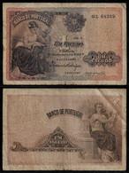 PORTUGAL BANKNOTE 1 ESCUDO 1917 P#113 F (NT#06) - Portugal
