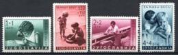 YOUGOSLAVIE (Royaume De Yougoslavie) - 1939 - N° 339 à 342 - (Au Profit De L'enfance) - Ungebraucht