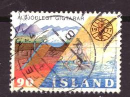 IJsland / Iceland / Island 526 Used (1977) - Ongebruikt