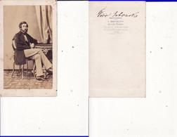 Russia, Russland, Russie- Old Photography -CDV,Cabinet Photo Bergamasco Sankt Petersburg - Oud (voor 1900)