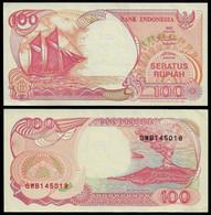 INDONESIA BANKNOTE 100 RUPIAH 1992 P#127 XF/AU (NT#06) - Indonesia