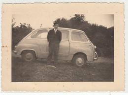 AUTO CAR VOITURE FIAT 600 MULTIPLA - FOTO ORIGINALE - Coches