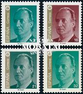 1997 Espagne  Yv 3044/3045,3057/3058 Juan Carlos I Rois **SC TTB Très Beau, Neuf Sans Charnière  (Yvert&Tellier) - 1991-00 Unused Stamps