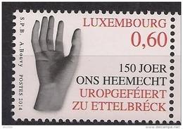 """2014 Luxemburg Mi. 2006 **MNH 150. Jahrestag Der Ersten öffentlichen Darbietung Des Gedichts """"Ons Heemecht"""" - Nuevos"""