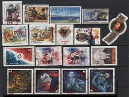 Canada (29) 1996 - 1998. 32 Different Stamps. Used & Unused. - Colecciones