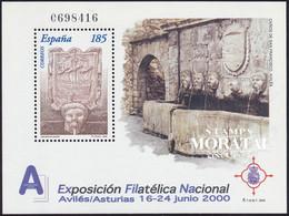 2000 Espagne  Yv BF-83 BF Exfilna 2000 Exposition **SC TTB Très Beau, Neuf Sans Charnière  (Yvert&Tellier) - 1991-00 Unused Stamps