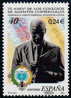2001 Espagne  Yv 3343 Agents Commerciaux  **SC TTB Très Beau, Neuf Sans Charnière  (Yvert&Tellier) - 2001-10 Nuevos & Fijasellos