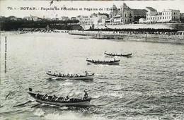 ► ROYAN - Aviron Régate De L'Escadre - CPA 1912 - Aviron