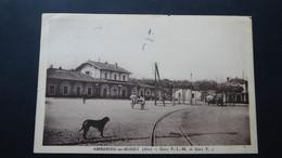 AMBERIEU En BUGEY - Gare P L M Et Gare T - Altri Comuni