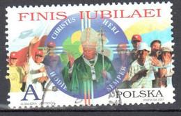 Poland 2001 End Of Holy Year 2000 - Mi 3875 - Used Gestempelt - Usati