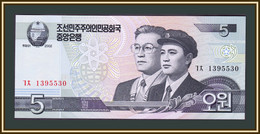 North Korea 5 Won 2002 P-58 (58a) UNC - Korea, North