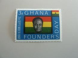 GHANA - Founder's Day - 3d - Polychrome - Neuf Sans Charnière - Année 1960 - - Ghana (1957-...)