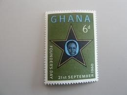 GHANA - Founder's Day - 6d - Polychrome - Neuf Sans Charnière - Année 1960 - - Ghana (1957-...)