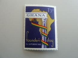 GHANA - Founder's Day - 1/3d. - Polychrome - Neuf Sans Charnière - Année 1960 - - Ghana (1957-...)