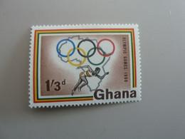 GHANA - Olympic Games 1960 - 1/3d. - Polychrome - Neuf Sans Charnière - Année 1960 - - Ghana (1957-...)