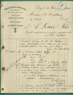 27 Léry Louée Fils Chardons Naturels Et Minéralisés ( Médaille Mérite Agricole ) 10 12 1904 - Artesanos