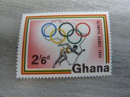 GHANA - Olympic Games 1960 - 2/6d. - Polychrome - Neuf Sans Charnière - Année 1960 - - Ghana (1957-...)