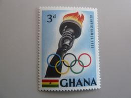 GHANA - Olympic Games 1960 - 3d. - Polychrome - Neuf Sans Charnière - Année 1960 - - Ghana (1957-...)