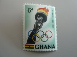 GHANA - Olympic Games 1960 - 6d. - Polychrome - Neuf Sans Charnière - Année 1960 - - Ghana (1957-...)