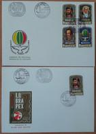Portugal FDC - Lubrapex Aveiro - 5 Outubro 1972 - FDC