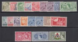 Bermuda, Scott 143-162 (SG 135-150), MNH - Bermuda