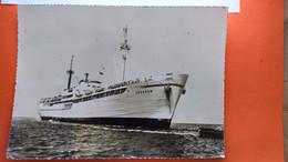 CPSM . Bateau. Cie Des Messageries Maritimes. SKAUGUM.    (R.080) - Steamers