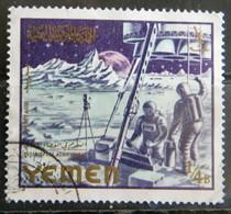 MZ105 -1965 - REGNO DELLO YEMEN  1 VALORE USATO 4B- REALIZZAZIONI SPAZIALI - SPAZIO - Jemen