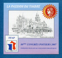 ⭐ France - Bloc Souvenir FFAP - YT N° 1 ** - Neuf Sans Charnière - 2007 ⭐ - FFAP