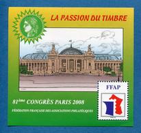 ⭐ France - Bloc Souvenir FFAP - YT N° 2 ** - Neuf Sans Charnière - 2008 ⭐ - FFAP