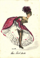 Janicotte Paris French Cancan 1 Recto Verso - Dance