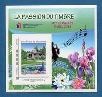 ⭐ France - Bloc Souvenir FFAP - YT N° 9 ** - Neuf Sans Charnière - 2014 ⭐ - FFAP