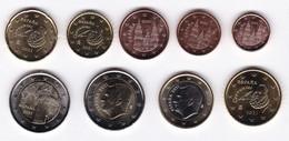 2021-ESPAÑA. JUEGO AÑO 2021 COMPLETO (9 Monedas)  - SIN CIRCULAR - Spain