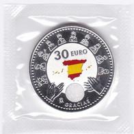 2020-ESPAÑA-MONEDA DE 30 EUR. DE PLATA- 2020  Homenaje A Heroes En La Lucha Contra La Pandemia -S.C.-UNC. - Spain
