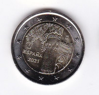2021-ESPAÑA. MONEDA 2 EUROS - Conjunto Histórico De La Ciudad De Toledo SIN CIRCULAR - Spain