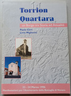 TORRION QUARTARA DI NOVARA - EDIZIONE 1966 (CART 70 - Storia