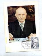 Carte Maximum 1975 Paris Schuman - 1970-79