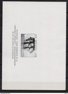 ZNP 6NL OOSTENDE COMPAGNIE  ZWART WIT VELLETJE 1974 - Zwarte/witte Blaadjes