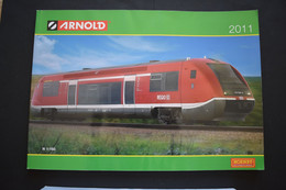 Catalogue 2011 Trains Miniatures Arnold Echelle N - French