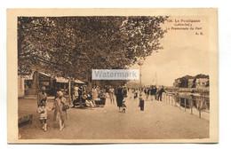 Le Pouliguen (44) - La Promenade Du Port - Old France Postcard - Le Pouliguen